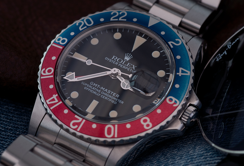 Rplex 1675 GMT with Denim Pepsi Insert