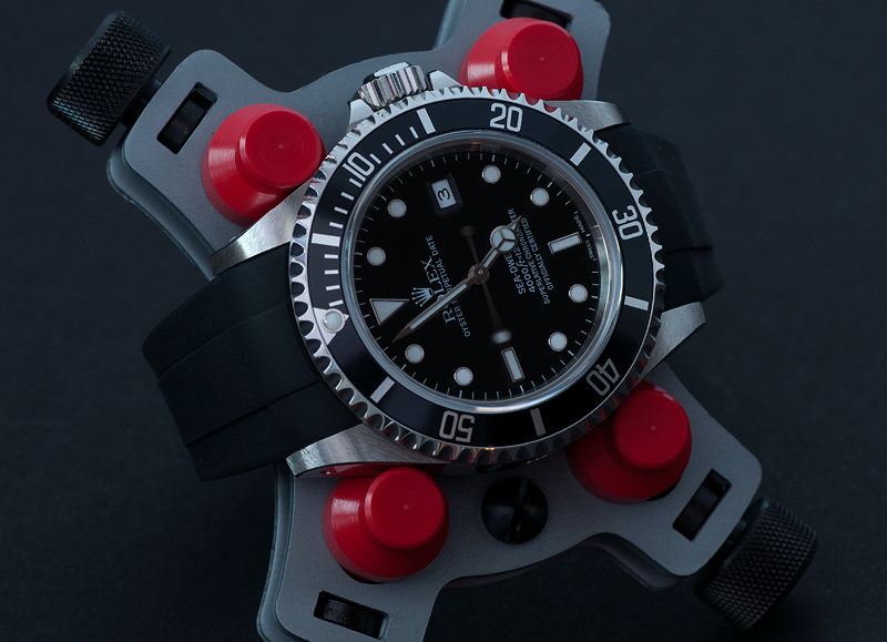 Rolex 16600 Sea Dweller on Rubber B