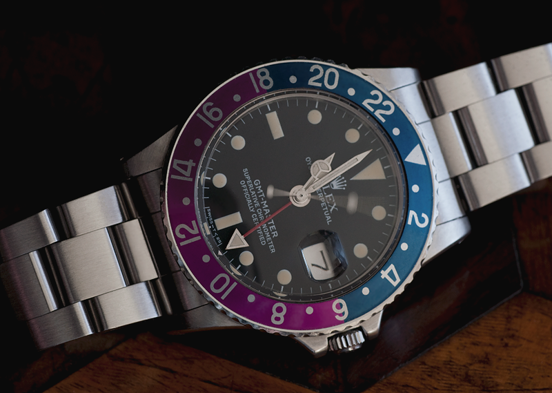Rolex 1675 GMT with Pink/Purple Insert