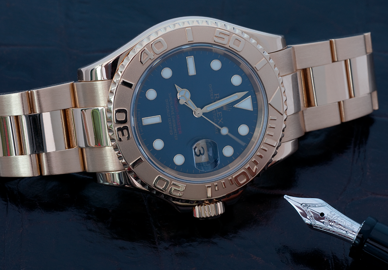 Rolex 18k Yachtmaster