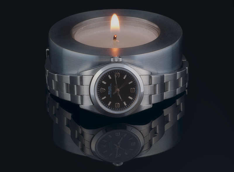 Watch The Candle - Rolex 76080