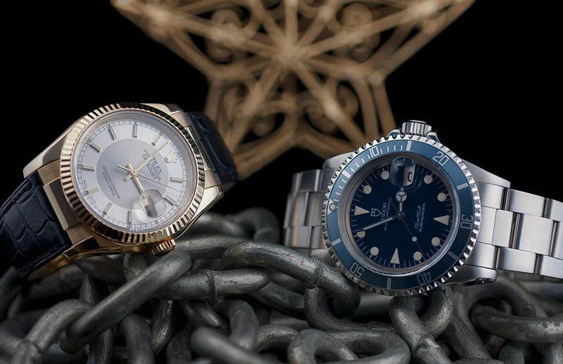 ROLEX 116138 DATEJUST & TUDOR 76100 SUBMARINER